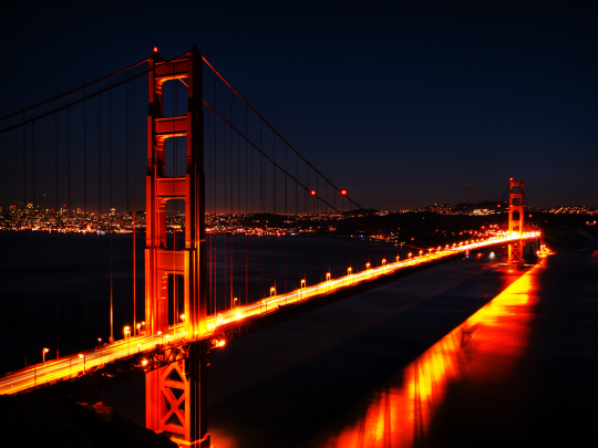 Image result for san francisco at night